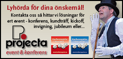 Projecta banner